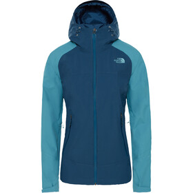 The North Face Stratos Jacke Damen blue wing teal/storm blue
